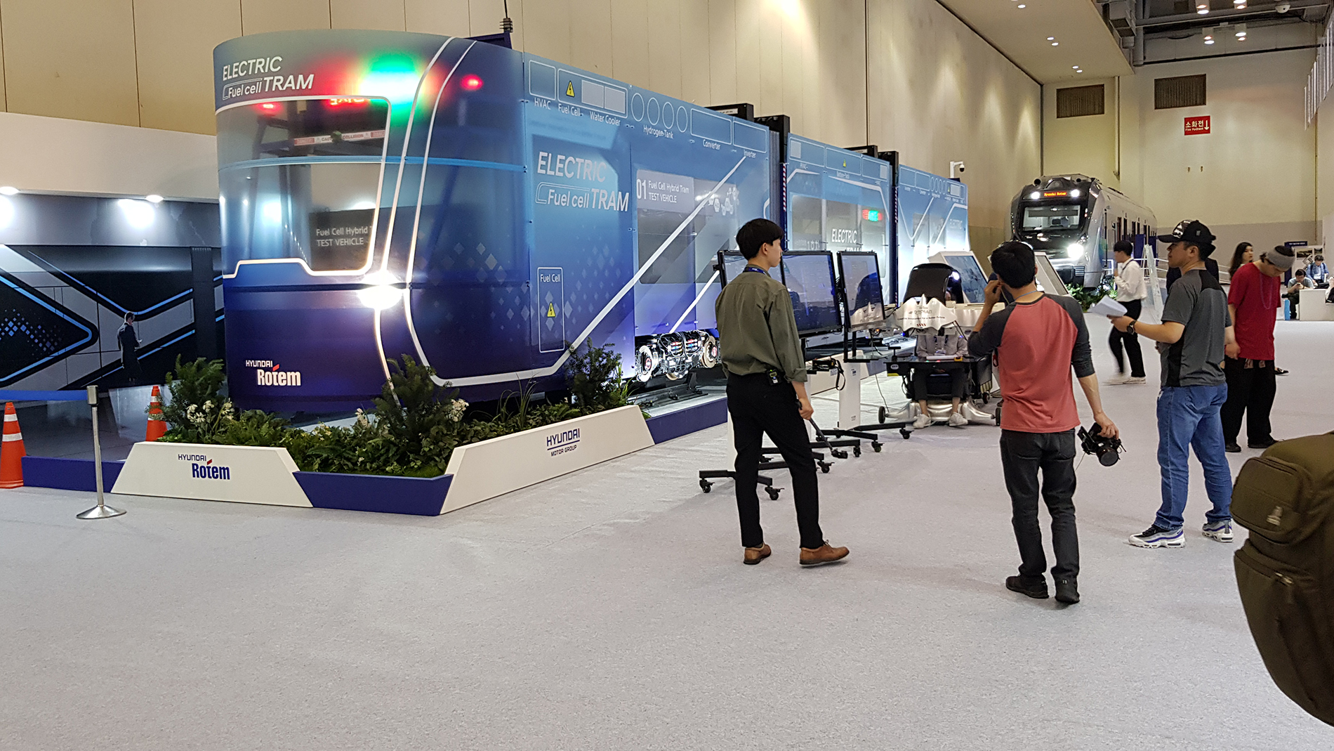 Electric Fuel Cell Tram