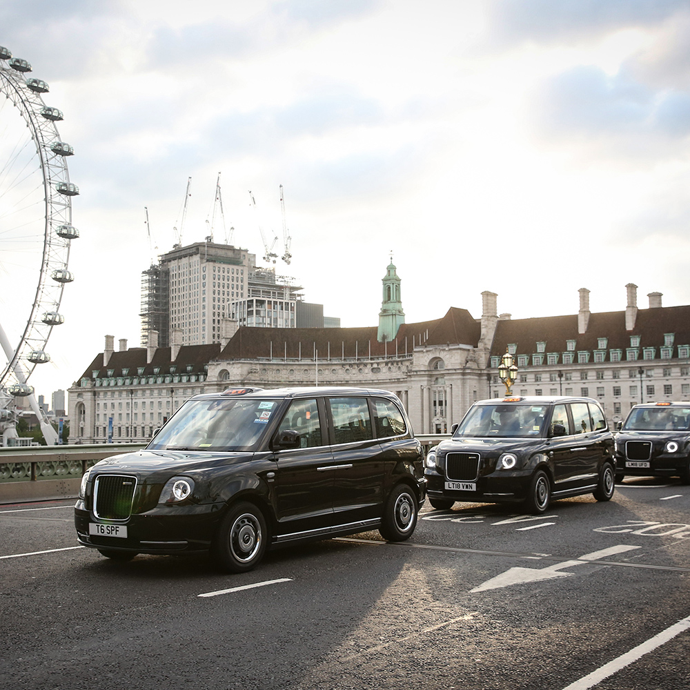 LEVC – from taxi manufacturer to leading manufacturer of electric vehicles (Photo: LEVC)