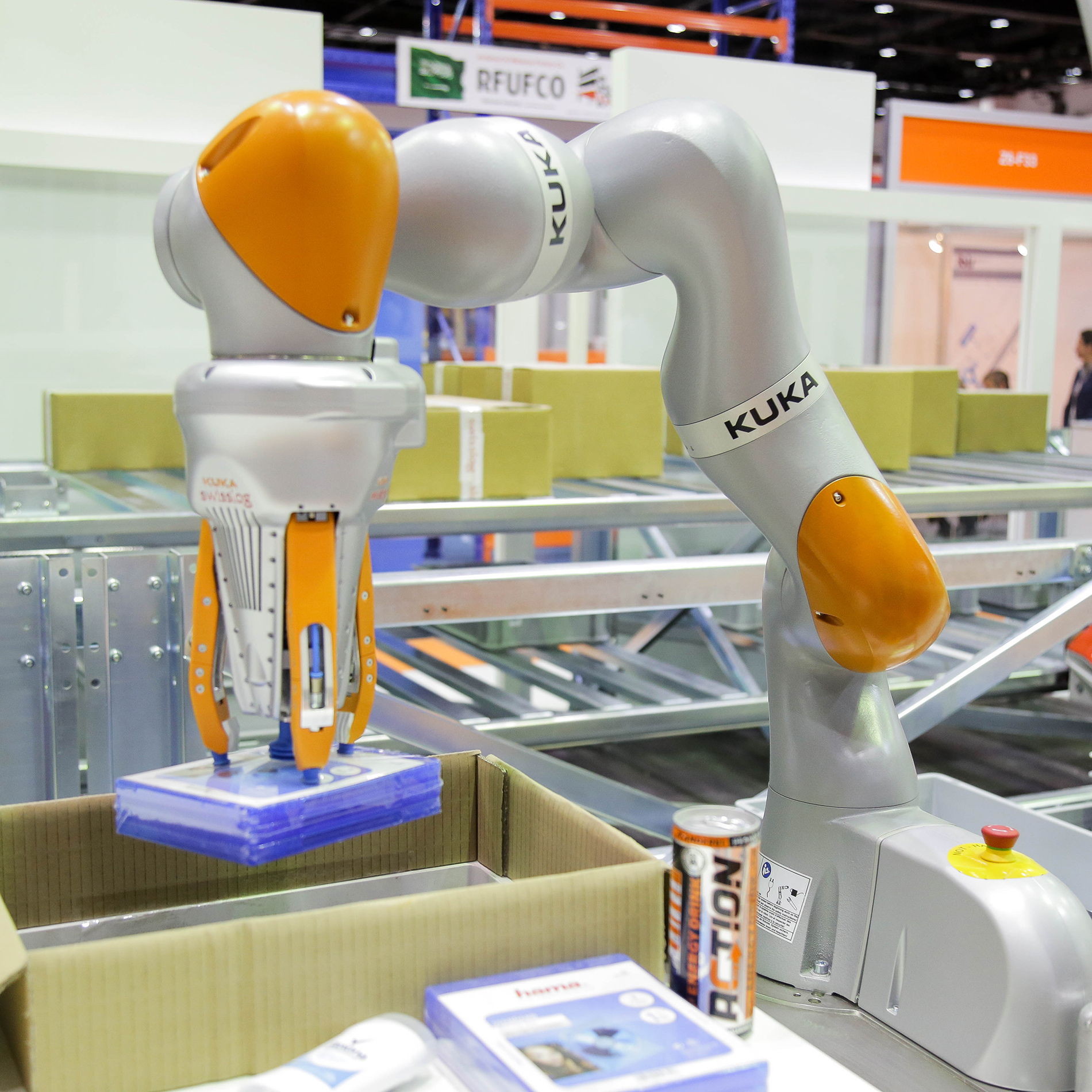 Display item at Materials Handling Middle East